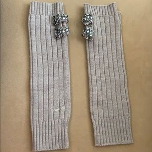Juicy Couture arm warmers